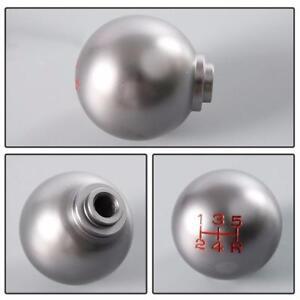 Auto-Aluminum-Ball-Style-5-Lever-Speed-Manual-Shift-Knob-Gear-Stick-For-Honda-de