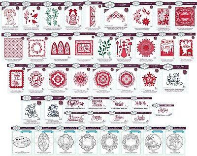 Creative Expressions Sue Wilson FESTIVE COLLECTION cloche de Noël CED3131 5 matrices
