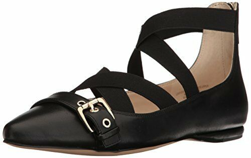 Nine West donna Smoak Leather Ballet Flat- Pick SZ Coloree.