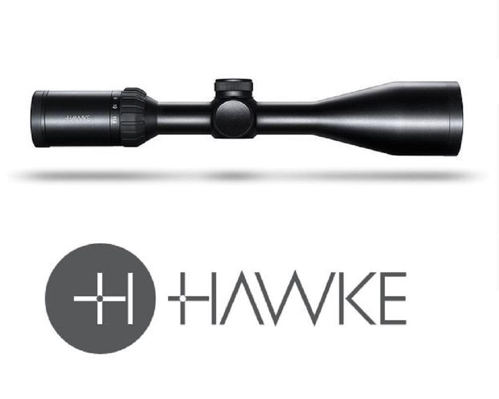 Hawke Panorama 4-12X50 10X 1 2 Mil Dot Rifle Scope (Target Hunting)
