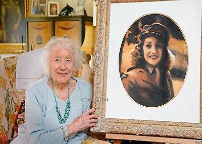 DAME VERA LYNN A4 GLOSSY PHOTO PRINT WWII LEGEND SINGER RIP WE/'LL MEET AGAIN