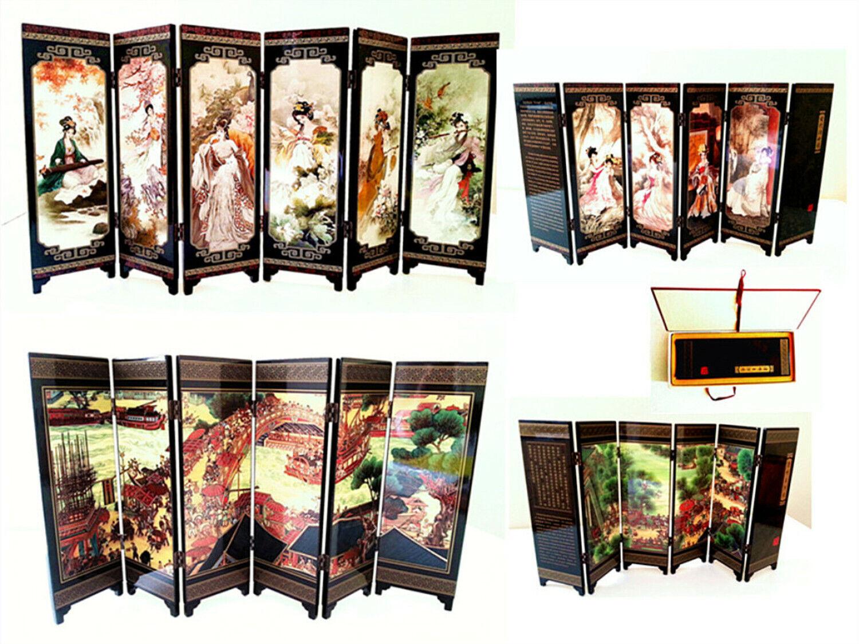 Exquisite Foldable Table Decor in Precious Wood vs oro Printed Dimensione=47X23 cm