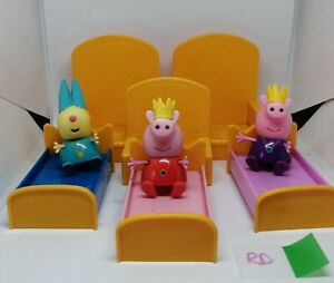 Peppa-Pig-Figures-Toys-Peppa-Bundle-Joblot-Crown-Royal-Throne-Furniture-RD