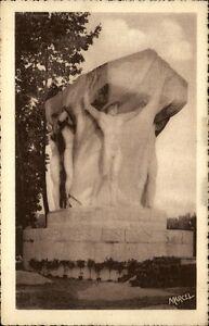 Lyon-France-CPA-1920-30-Monument-aux-Morts-de-la-grande-guerre-Kriegerdenkmal
