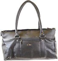 Ladies Nappa Leather Handbag / Shoulder Bag with Detachable / Adjustable Strap