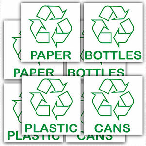 "8 X Bac De Recyclage Stickers-recycle Papier, Plastique, Canettes, Bottles.with Logo Signes-le Paper,plastic,cans,bottles.with Logo Signs"" Data-mtsrclang=""fr-fr"" Href=""#"" Onclick=""return False;"">afficher Le Titre D'origine T1cf5ep9-07224449-854"