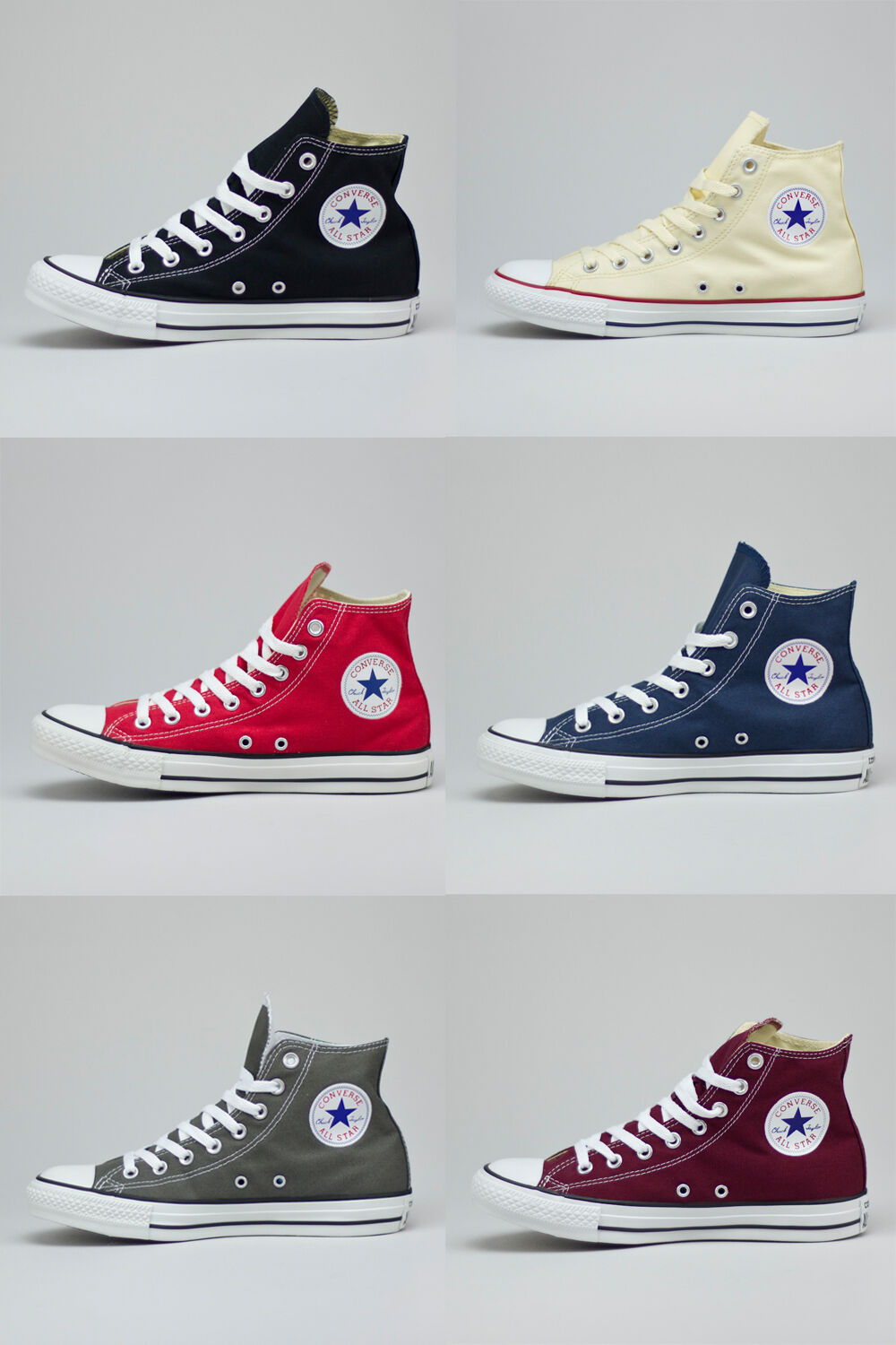 Converse Bll Star Hi Trainers Brand new in box Size UK sizes 3,4,5,6,7,8,9,10,11