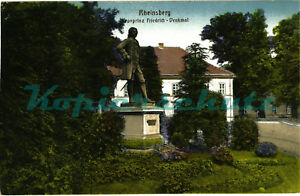 AK-Rheinsberg-Kronprinz-Friedrich-Denkmal-1917-07-02