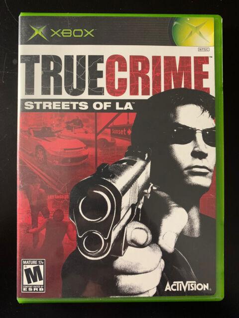 True Crime: Streets of LA (XBOX 2003) CIB Complete & Tested Game - Like New NTSC