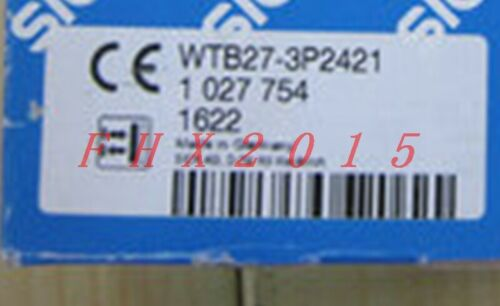ONE NEW FOR SICK Photoelectric Sensor WTB27-3P2421