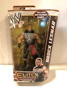 WWE WWF Elite Collection Brock Lesnar Wrestling Figure Mattel