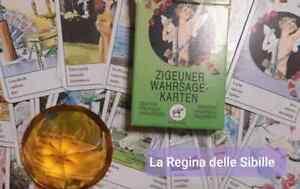 Carte Tzigane, Sibille Gitane, Zigeuner Karten VIDEO CORSO ONLINE in offerta 45€