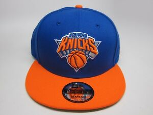 15cdad68eb2 New Era NBA NEW YORK KNICKS 9FIFTY 2-TONE SNAPBACK CAP  ROYAL ...