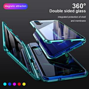 Coque-360-Pour-Huawei-Honor-V30-Pro-20-Lite-10-9X-8X-Double-Verre-trempe-etui