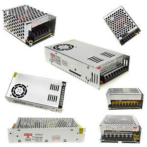 Switch Power Supply Driver adapter AC110~220V TO DC 5V/12V/24V/48V For LED Strip