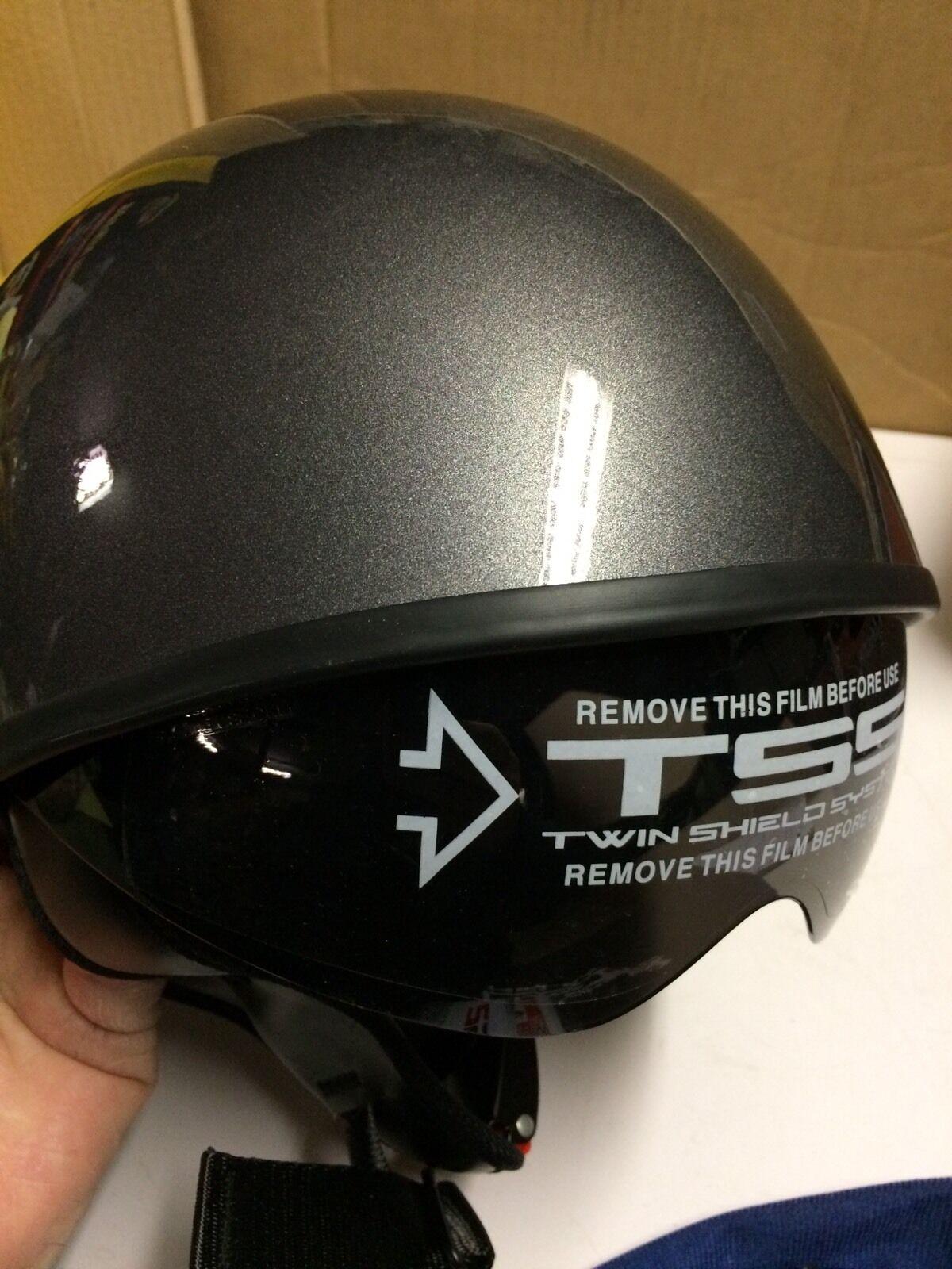 Helmet LS2  Gunmetal Grey Size XS Model HH566   all goods are specials