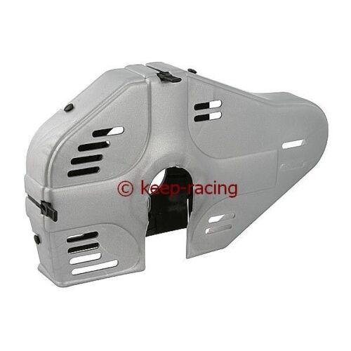 Typ Racing Integral Kettenschutz für Kart Kartkette 219er 428er silber