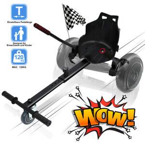 Hoverboard Sitzscooter Sitz hoverkart Hoverseat Sitz kart Hovercart Schwarz