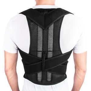 For-Men-Women-Posture-Corrector-Back-Brace-Shoulder-Support-Trainer-Belt-L-Size