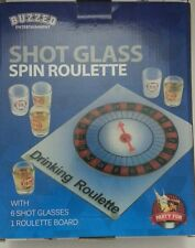 Drinking Roulette Spin Shot Stag Hen Adult Glass Bar Game-BETTER VERSION---READ!