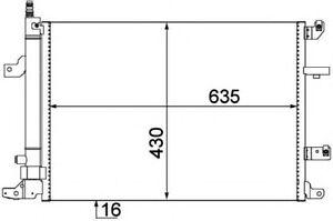 CONDENSATORE-RADIATORE-ARIA-CONDIZIONATA-VOLVO-S60-S80-S-V-S70-WO-TURBO-C-ES