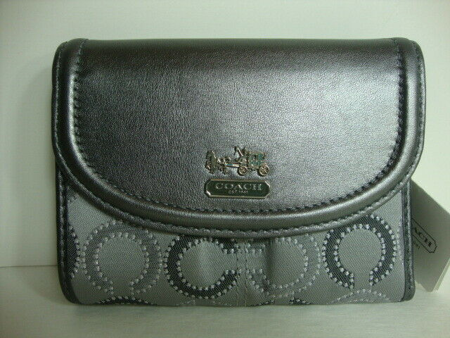 Coach Madison dotted medium Wallet 48538