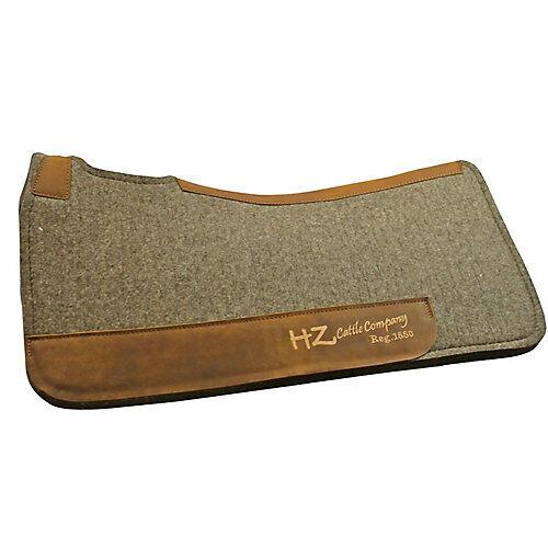Colorado Saddlery Pressed Wool Contour Pad