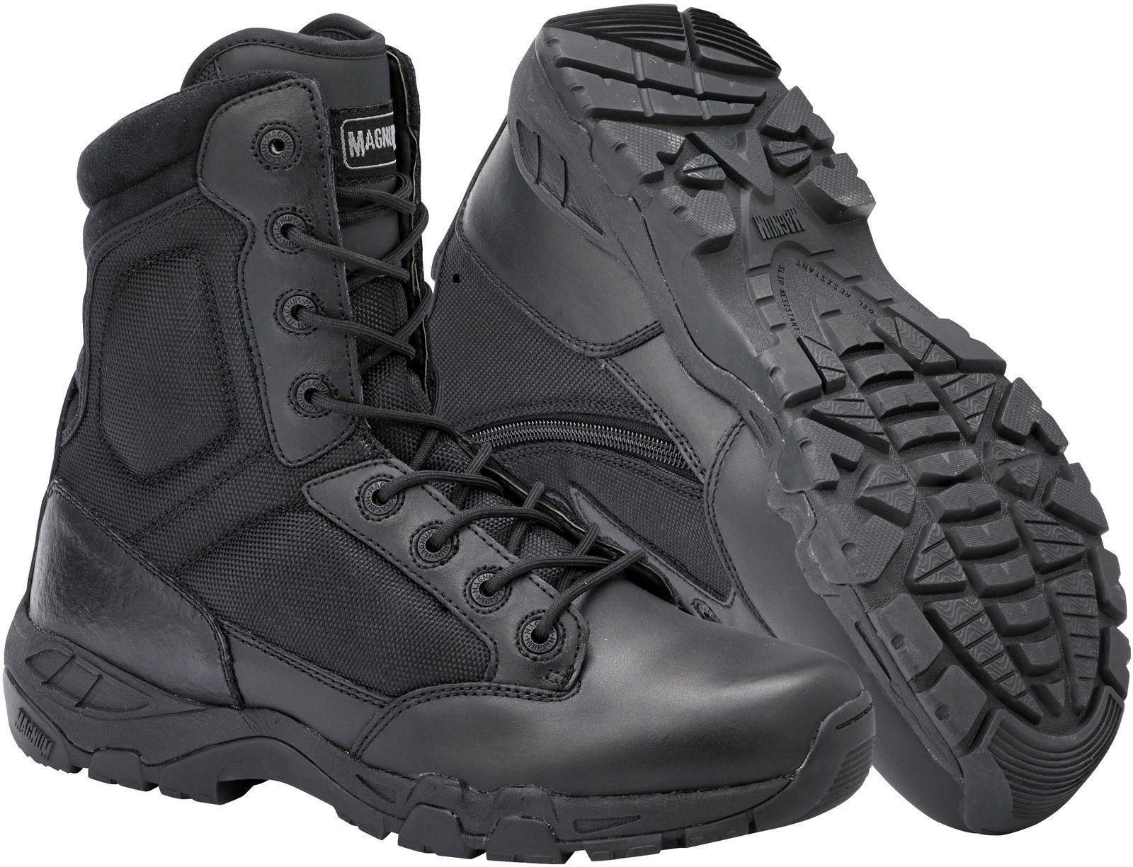 Los zapatos más populares para hombres y mujeres MAGNUM VIPER PRO 8.0 Cremallera Lateral Ligero Hombre Combate POLICE