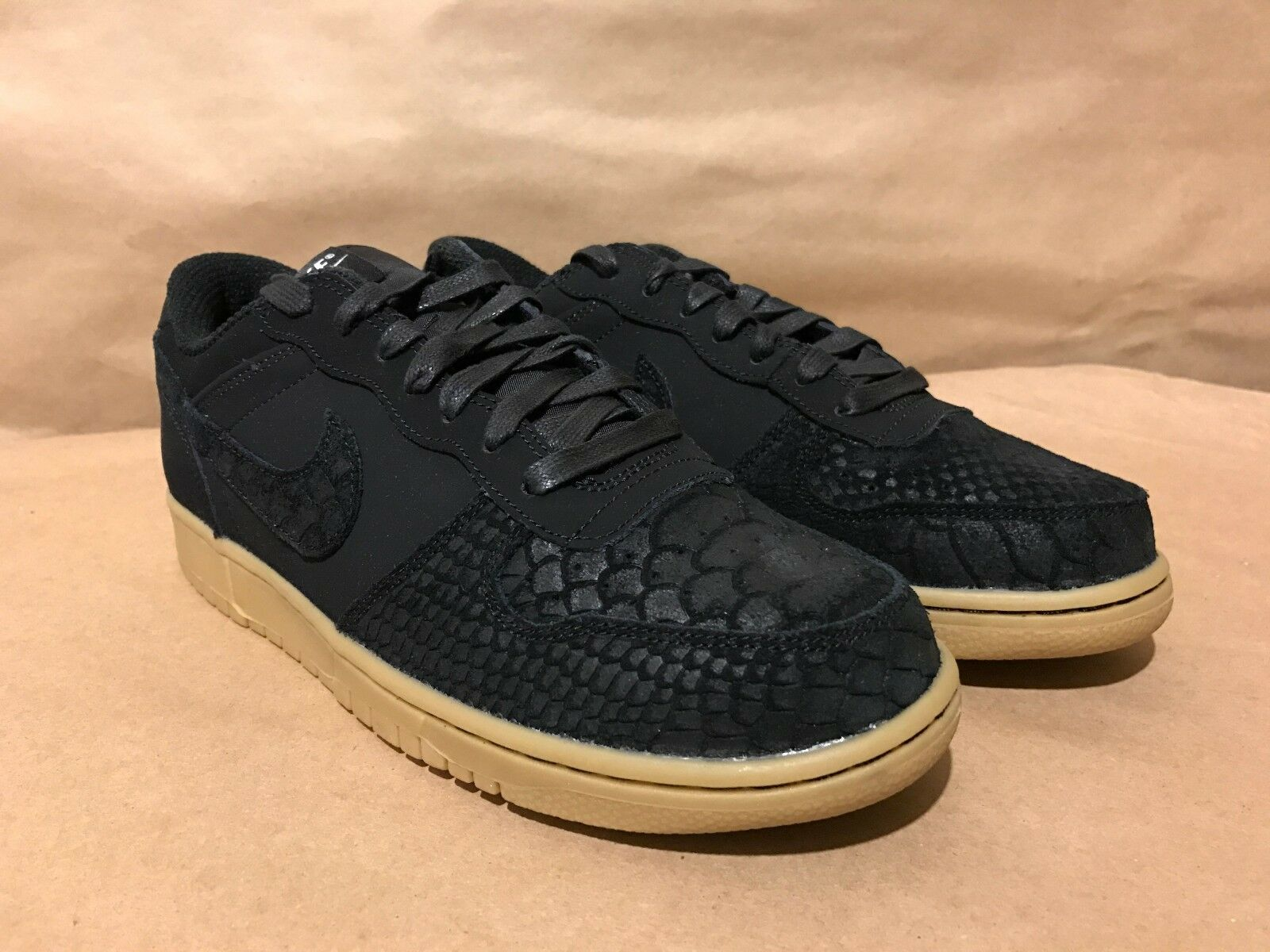 854166-002 Big Nike Low Lux Black/Black-Gum Light Brown-WO Sizes Sizes Sizes 8-12 NIB bd6a99