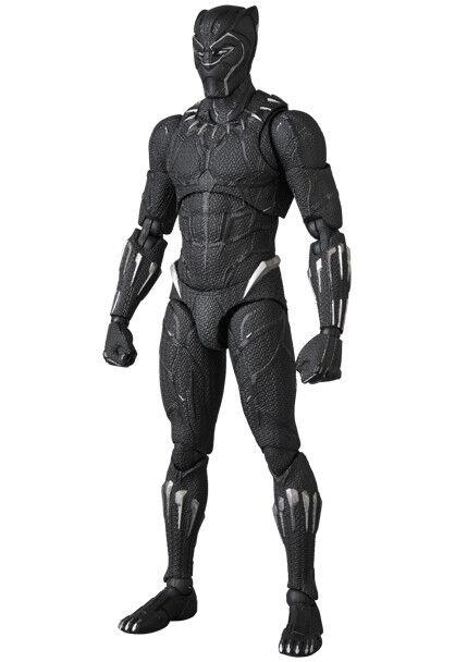 MEDICINSK leksak MAFEX PANTER nr.091 Avengers Oändligt krig
