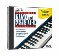 Emedia Beginner Piano And Keyboard Lessons V3 Free Shipping