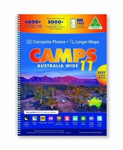 Camps Australia Wide 11 B4 by Heatley & Michelle Gilmore (2021, Spiral)