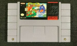 Super-Mario-World-2-Yoshis-Island-Nintendo-SNES-tested-original-authentic