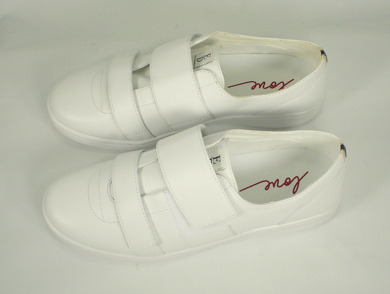Ellen Degeneres NWOB Leather  Blanc  oxford sneaker chaussures femmes chaussures sneaker  Taille 10M f0f54d
