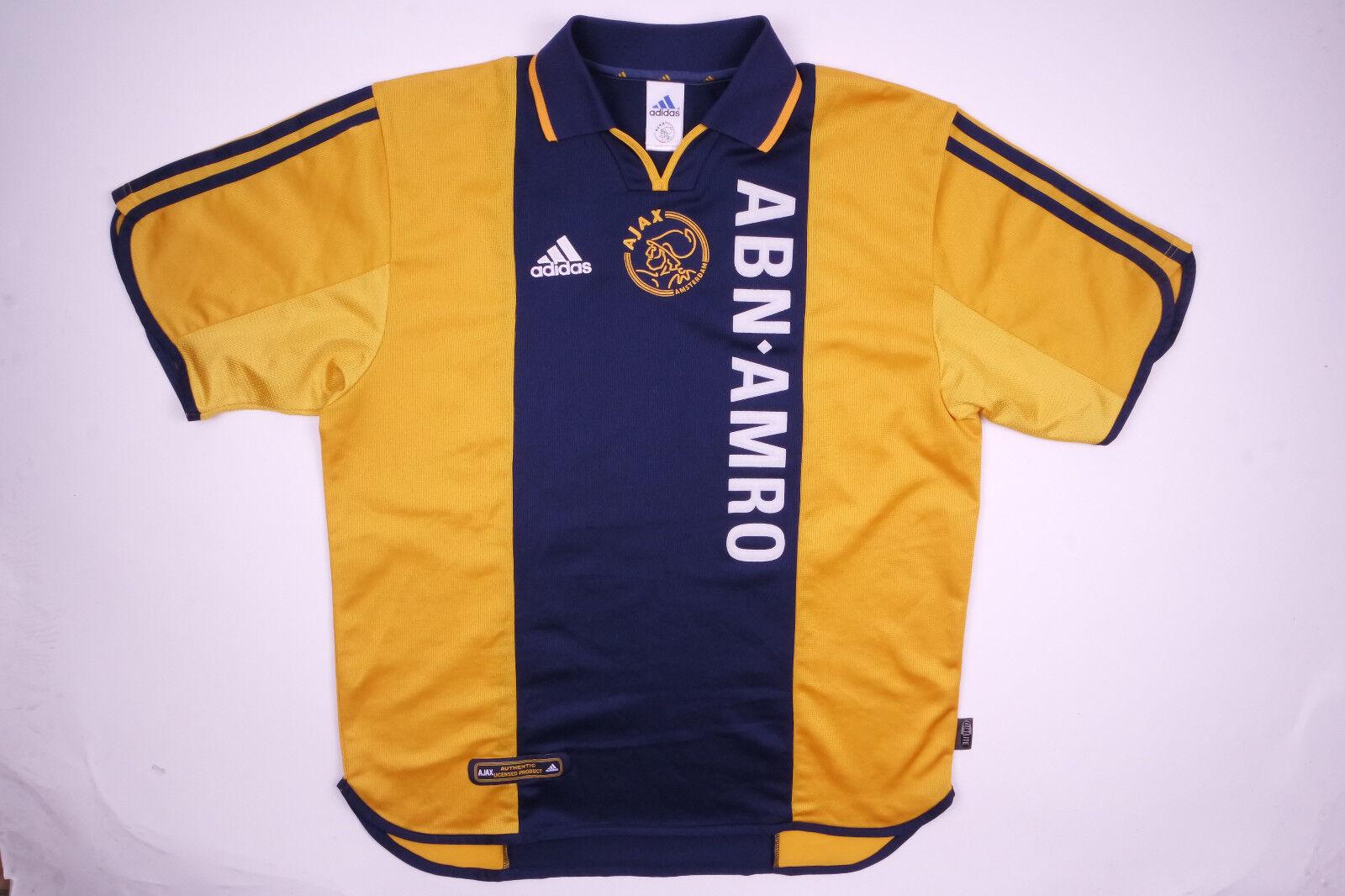 Ajax Amsterdam Jersey Trikot 2000 ABN AMRO Rarität L Retro Größe L Rarität e427d4