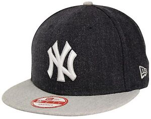 72143307 Details about New Era 9Fifty Heather Act New York Yankees Navy Gray  Snapback Bronx Bombers NYY