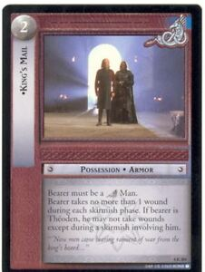 Lord Of The Rings CCG Card TTT 4.R284 King's Mail