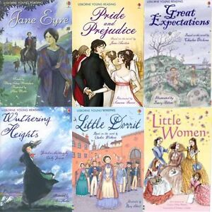 Usborne-Young-Reading-Series-Three-6-Books-Collection-Set-Paperback-BRAND-NEW