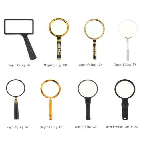 3/5X/10X Magnifying Glass Reading Magnifier Science Exploration Optics Learn Toy