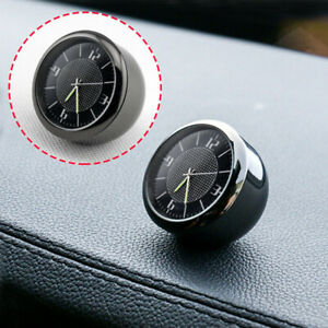 Car-Vehicle-Front-Dashboard-Air-Vent-Metal-Clock-Interior-Accessories-Part-Trim