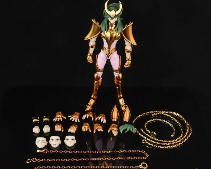 Great Toys Saint Seiya Myth Cloth EX Gold Final Andromeda Andromède Shun Figure