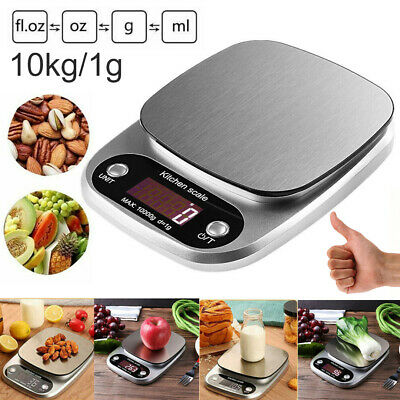 10kg//1g Precision Electronic Digital Kitchen Food Weight Scale Home Kitchen ZJP