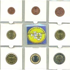 Allemagne 2009 F SERIE 7 MONNAIES ET 2 EURO Commemorative EMU  SUP-