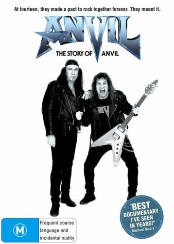 1 of 1 - Anvil - The Story Of Anvil (Metal Music Band) NEW R4 DVD