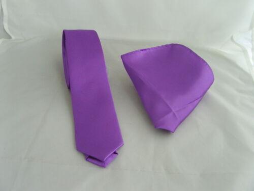 Cadbury Purple Collection/>Polyester Hankie-Bow tie-Neckties-Cravats-Cummerbund++