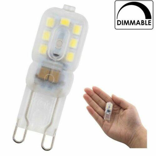 4//8 Tlg 3W 5W 7W G9 LED Light Dimmable AC 220V Lampe SMD 2835 Scheinwerfer Licht