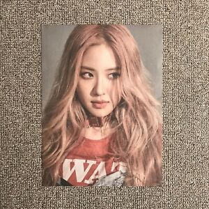 BlackPink-Kill-This-Love-Korean-Album-Rose-Park-Chaeyoung-Poster