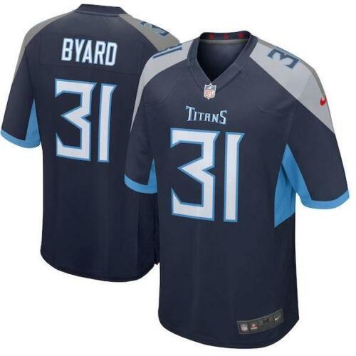 Kevin Byard Men/'s Game Navy Jersey  Titans