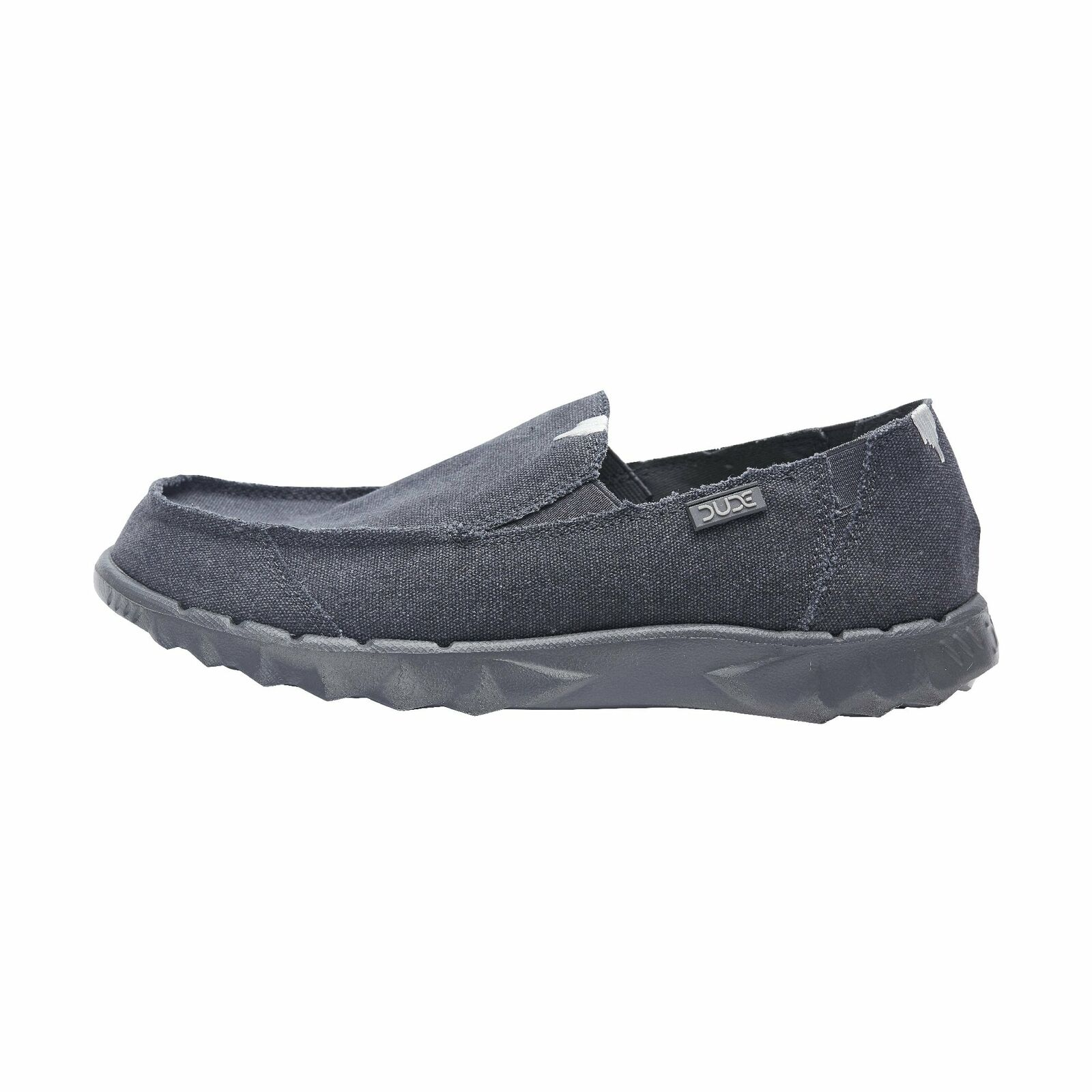 Hey Dude shoes Mens Farty Roughcut Night bluee Canvas Slip On Mule