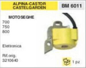 3210640 BOBINA ELETTRONICA MOTOSEGA ALPINA CASTOR CASTEL GARDEN 700 760 800